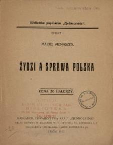Żydzi a sprawa polska