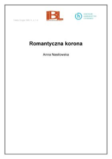 Romantyczna korona (wstęp)