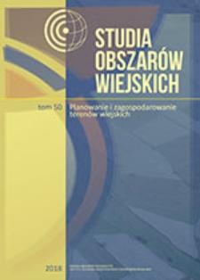 Historyczne zmiany użytkowania gruntów na obszarach wiejskich Polski południowej – studium przypadków = Historical changes in land use in rural areas of southern Poland – case study