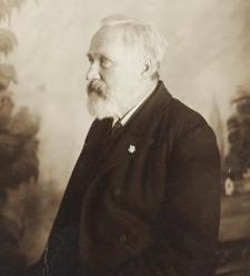 Benedykt Dybowski - profil z szarotką