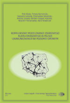 Kompleksowe modelowanie osobowego ruchu drogowego w Polsce : uwarunkowania na poziomie gminnym = Comprehensive modelling of passenger road traffic in Poland - the municipality level aspects