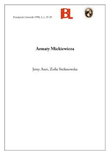 Armaty Mickiewicza