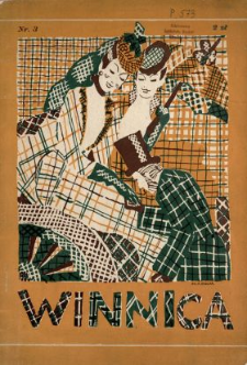 Winnica : miesięcznik ilustrowany poświęcony kobiecie w życiu, sztuce i anegdocie N.3