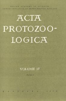 Acta Protozoologica, Vol. 17, Nr 2