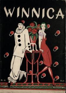 Winnica : miesięcznik ilustrowany poświęcony kobiecie w życiu, sztuce i anegdocie N.4