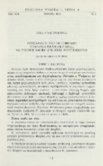 Obserwacje nad skupieniami Viviparus fasciatus Müll. na terenie łachy wiślanej Konfederatka