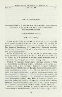 Rozmieszczenie i dynamika liczebności mięczaków dennych na łasze wiślanej Konfederatka pod Wyszogrodem