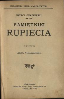 Pamiętniki Rupiecia