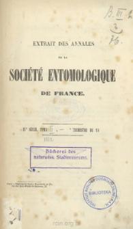 Coléopteres de L'ile de Cuba. Notes, synonymies et descriptions d'especes nouvelles : Familles Des Cérambycides et des Parandrides