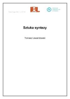 Sztuka syntezy
