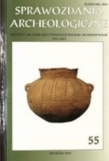 Sprawozdania Archeologiczne T. 55 (2003), Omówienia i recenzje