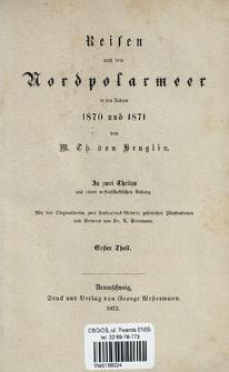 Reise in Norwegen und Spitzbergen im Jahre 1870 : unternommen in Gesellschaft des Grafen Karl v. Waldburg-Zeil-Trauchburg