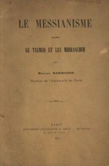 Le messianisme dans le Talmud et les Midraschim