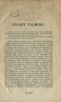 Zasady Talmudu