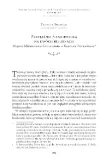 Przyjaźnie Sienkiewicza na dwóch biegunach. Między Mścisławem Godlewskim a Karolem Potkańskim