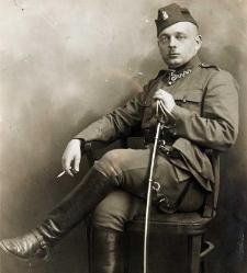 Janusz Domaniewski w mundurze