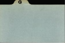 Katalog Protozoa: G