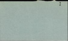Katalog Protozoa: I