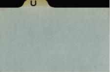 Katalog Protozoa: U