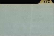 Katalog Protozoa: Y