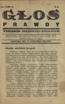 Głos Prawdy 1923 N.5