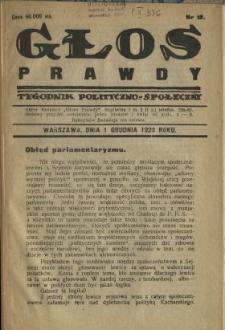 Głos Prawdy 1923 N.12