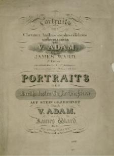 Portraits des chevaux anglais les plus célèbres litographiés par V. Adam d'apres James Ward