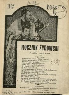 Rocznik Żydowski 1902