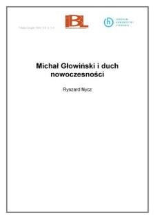 Michał Głowiński i duch nowoczesności