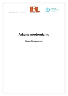 Arkana modernizmu