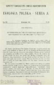 Untersuchungen über die sekundäre Besiedlung der Frassstätten der Wickler (Tortricidae)