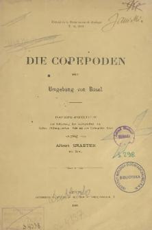 Die Copepoden der Umgebung Basels