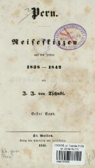 Peru : Reiseskizzen aus den Jahren 1838-1842. Bd. 1
