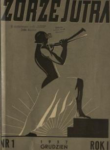 Zorze Jutra 1937 N.1