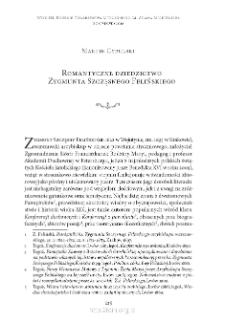 Romantyczne dziedzictwo Zygmunta Szczęsnego Felińskiego