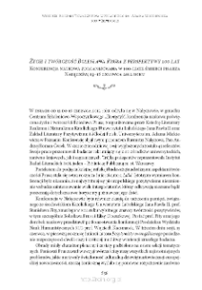 """""""Życie i twórczość Bolesława Prusa z perspektywy 100 lat"""". Konferencja naukowa zorganizowana w 100-lecie śmierci pisarza. Nałęczów, 13–16 czerwca 2012 roku"""