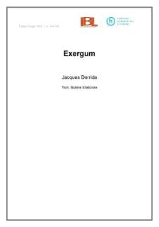 Exergum