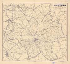 Województwo warszawskie : skala 1:300.000