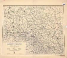 Województwo wrocławskie : mapa administracyjna i komunikacyjna 1:300 000