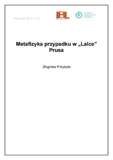 "Metafizyka przypadku w ""Lalce"" Prusa"