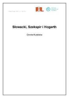 Słowacki, Szekspir i Hogarth