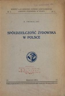 Spółdzielczość żydowska w Polsce