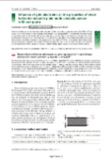 Influence of gold electrodes on the properties of shear horizontal acoustic plate mode viscosity sensor in BT-cut quartz / Waldemar Soluch, Magdalena Łysakowska, Tadeusz Wróbel.