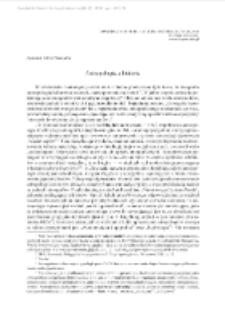 Antropologia a historia