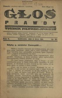 Głos Prawdy 1924 N.37
