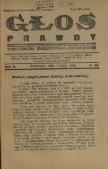 Głos Prawdy 1924 N.36