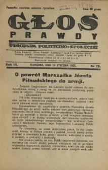 Głos Prawdy 1925 N.72