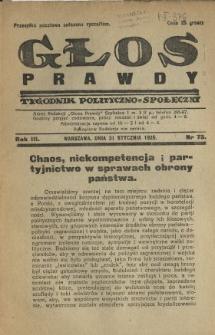 Głos Prawdy 1925 N.73
