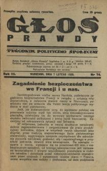 Głos Prawdy 1925 N.74