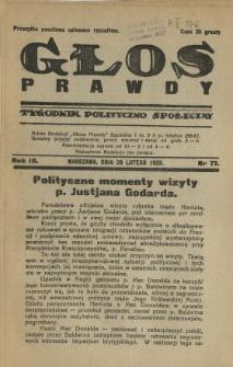 Głos Prawdy 1925 N.77